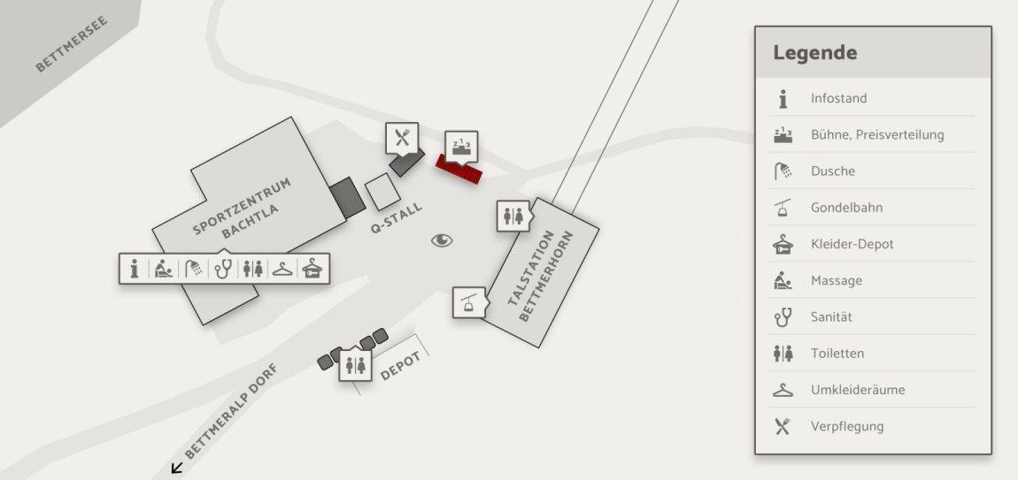 Skizze Preisverleihung Aletsch Halbmarathon Aletsch Arena